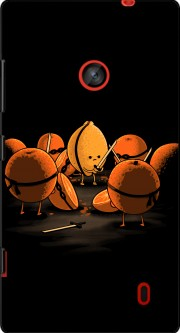 Orange Kill Fruit Case for Nokia Lumia 635