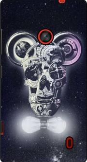 Skull Mickey Mechanics in space Case for Nokia Lumia 635