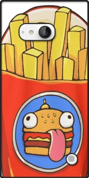 French Fries by Fortnite Case for Nokia Lumia 735