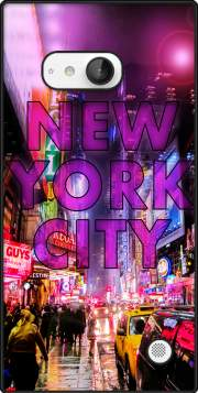 New York City - Broadway Color Case for Nokia Lumia 735