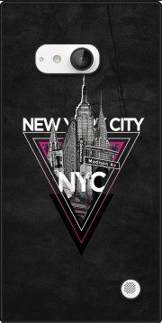 NYC V [pink] Case for Nokia Lumia 735