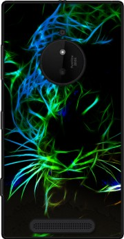 Abstract neon Leopard Case for Nokia Lumia 830