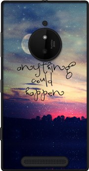 Anything could happen Case for Nokia Lumia 830