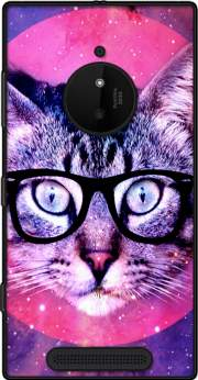 Cat Hipster Case for Nokia Lumia 830