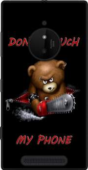 Don't touch my phone Case for Nokia Lumia 830