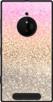 Gatsby Glitter Pink Case for Nokia Lumia 830
