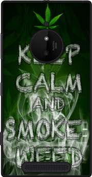 Keep Calm And Smoke Weed Case for Nokia Lumia 830