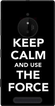 Keep Calm And Use the Force Case for Nokia Lumia 830