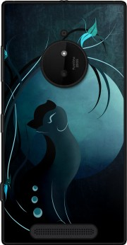 Sensual Cat in the Moonlight  Case for Nokia Lumia 830