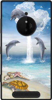 The Heart Of The Dolphins Case for Nokia Lumia 830