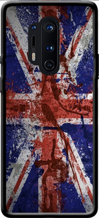 Silicone Oneplus 8 Pro with pictures flag