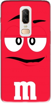 M&M's Red Case for OnePlus 6