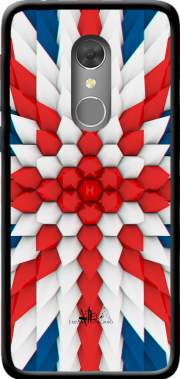 3D Poly Union Jack London flag Case for Orange Dive 73