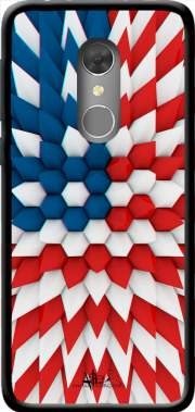 3D Poly USA flag Case for Orange Dive 73