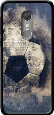 Abstract Blue Grunge Football Case for Orange Dive 73 / Alcatel 3