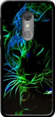 Abstract neon Leopard Case for Orange Dive 73