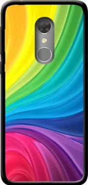 Rainbow Abstract Case for Orange Dive 73 / Alcatel 3