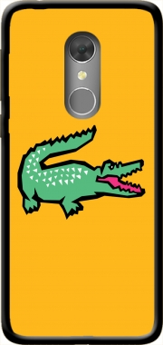 alligator crocodile lacoste Orange Dive 73 Case