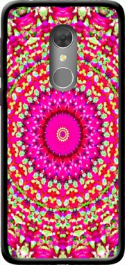 Arabesque Neon Green and Pink Case for Orange Dive 73