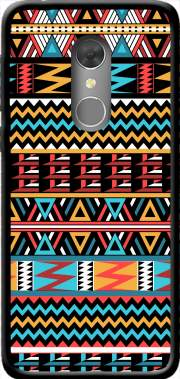 aztec pattern red Tribal Case for Orange Dive 73