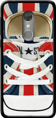 All Star Basket shoes Union Jack London Case for Orange Dive 73