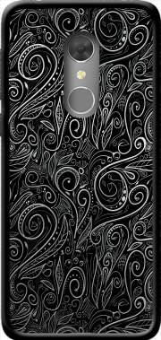 Black Silver Damasks Case for Orange Dive 73