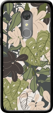 BOHEMIAN TROPICAL FOLIAGE Orange Dive 73 Case