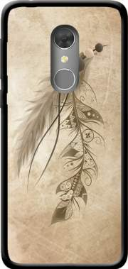 Boho Feather Case for Orange Dive 73