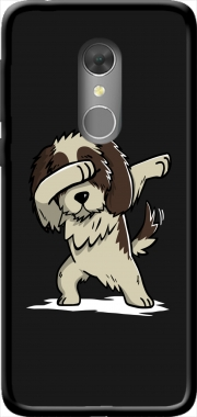 Dog Shih Tzu Dabbing Orange Dive 73 Case