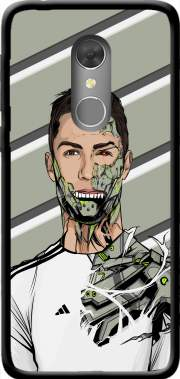 Football Legends: Cristiano Ronaldo - Real Madrid Robot Case for Orange Dive 73
