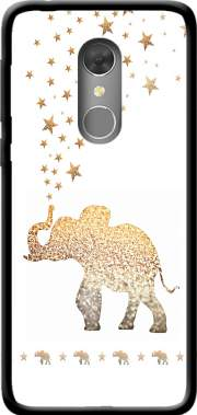 Gatsby Gold Glitter Elephant Case for Orange Dive 73