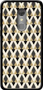 Glitter Triangles in Gold Black And Nude Case for Orange Dive 73
