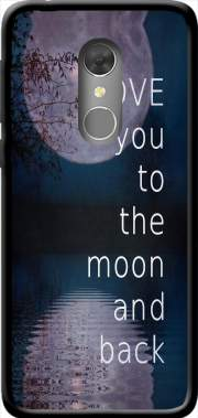 I love you to the moon and back Case for Orange Dive 73