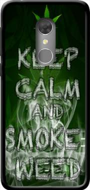 Keep Calm And Smoke Weed Case for Orange Dive 73