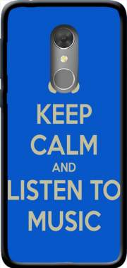 Keep Calm And Listen to Music Case for Orange Dive 73