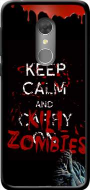 Keep Calm And Kill Zombies Case for Orange Dive 73