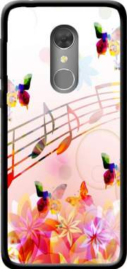 Musical Notes Butterflies Case for Orange Dive 73