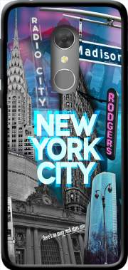 New York City II [blue] Case for Orange Dive 73
