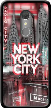 New York City II [red] Case for Orange Dive 73