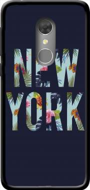 New York Floral Case for Orange Dive 73