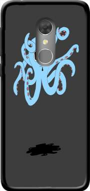 octopus Blue cartoon Case for Orange Dive 73