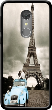 Eiffel Tower Paris So Romantique Case for Orange Dive 73