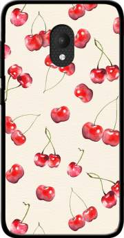 Cherry Pattern Case for Orange Rise 52 / Alcatel U5 4G