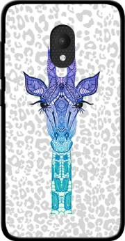 Giraffe Purple Case for Orange Rise 52 / Alcatel U5 4G