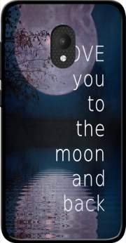 I love you to the moon and back Case for Orange Rise 52 / Alcatel U5 4G