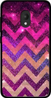 PARTY CHEVRON GALAXY  Case for Orange Rise 52 / Alcatel U5 4G