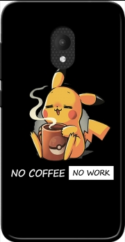 Pikachu Coffee Addict Case for Orange Rise 52 / Alcatel U5 4G