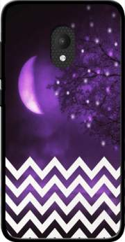 Purple moon chevron Case for Orange Rise 52 / Alcatel U5 4G