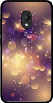 Purple Sparkles Case for Orange Rise 52 / Alcatel U5 4G