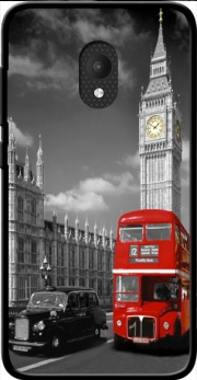 Red bus of London with Big Ben Case for Orange Rise 52 / Alcatel U5 4G